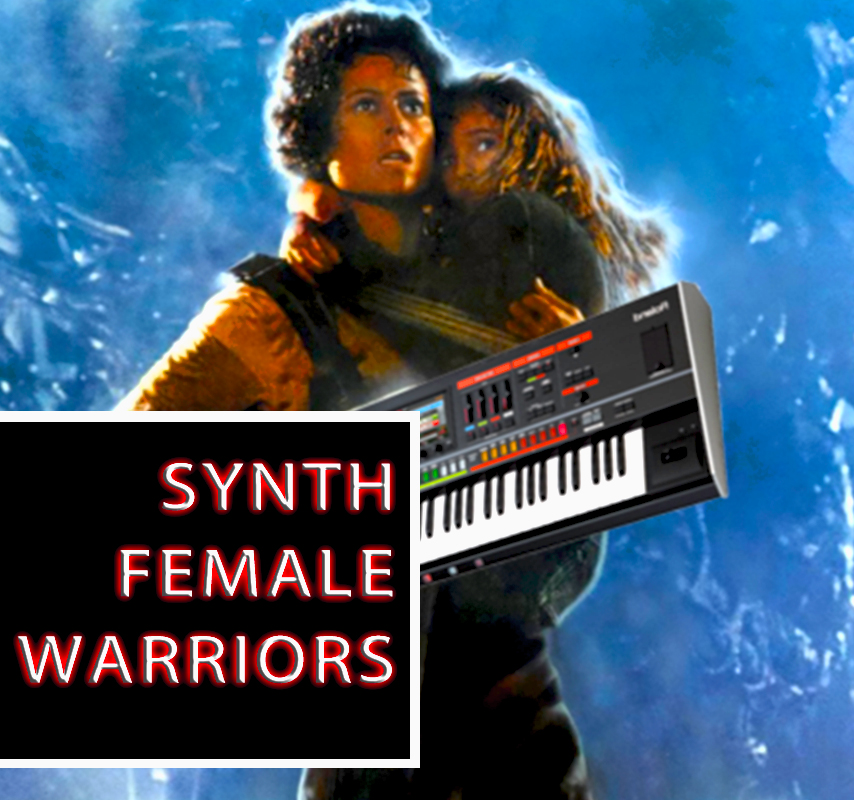 SYNTH FEMALE WARRIORS